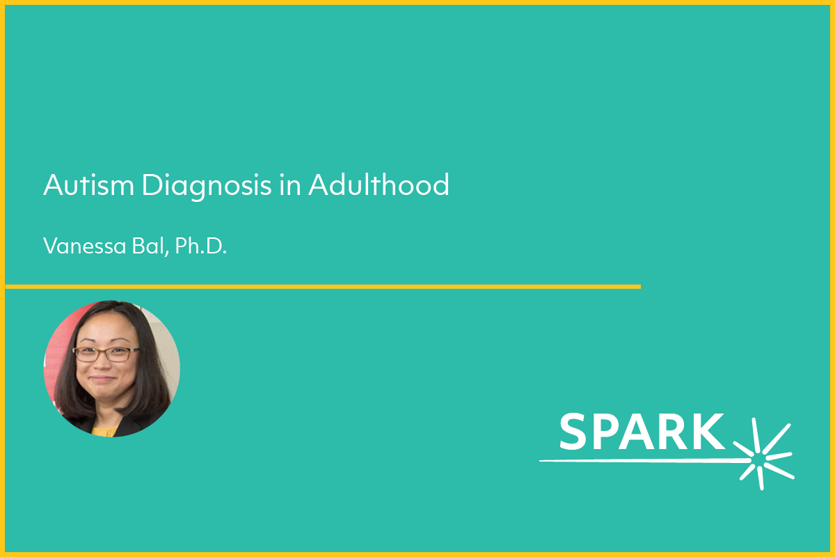 Webinar cover slide for webinar on adult diagnosis