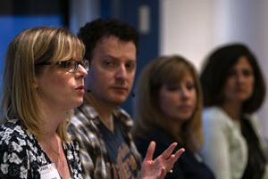 photo of SPARK community advisory council panel