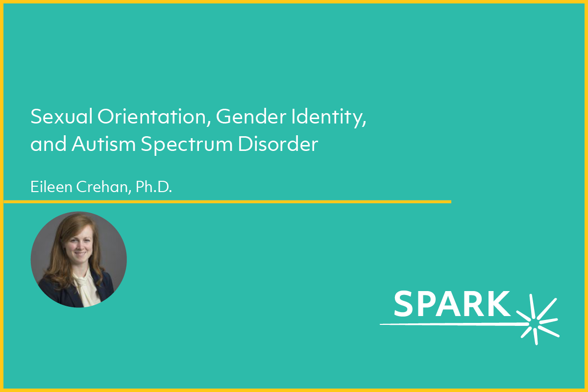 Cover image for Eileen Crehan's webinar on sexual orientation and gender identity