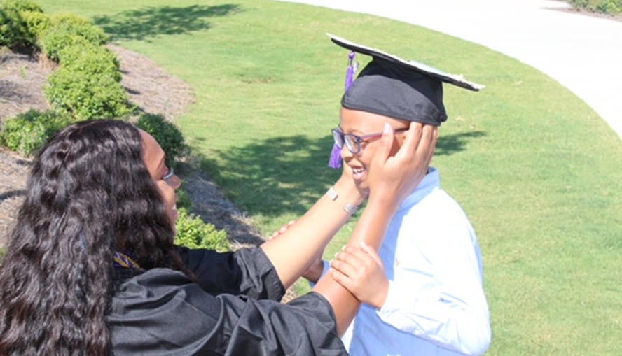 Burch graduation